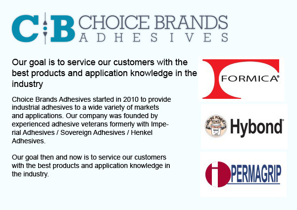 Choice Brands Adhesives
